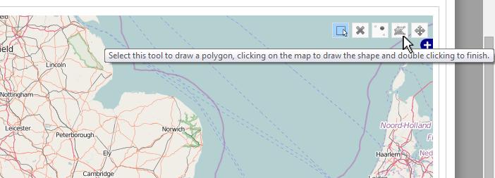 Map drawing tools