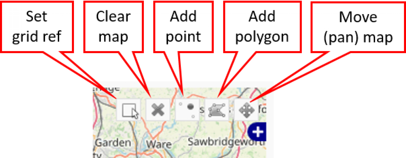 Map tools for filtering by polygon