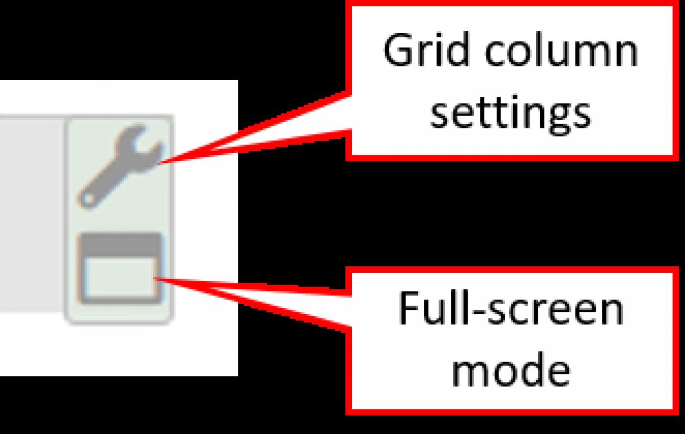 Records grid controls